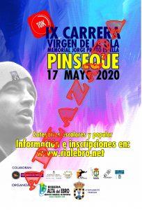 cartel carrera pinseque 2020 aplazada