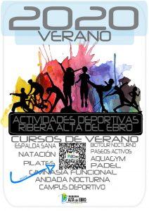 cartel actividades VERANO